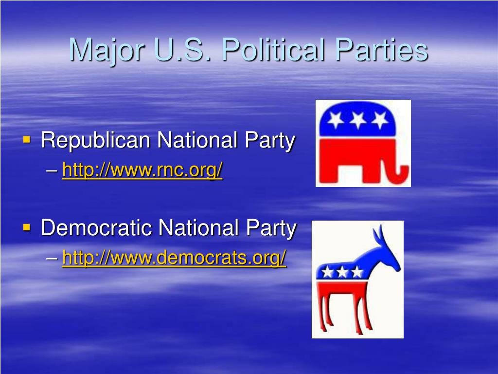 Major U.S. Political Parties
