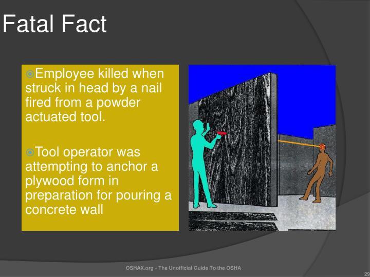 Fatal Fact