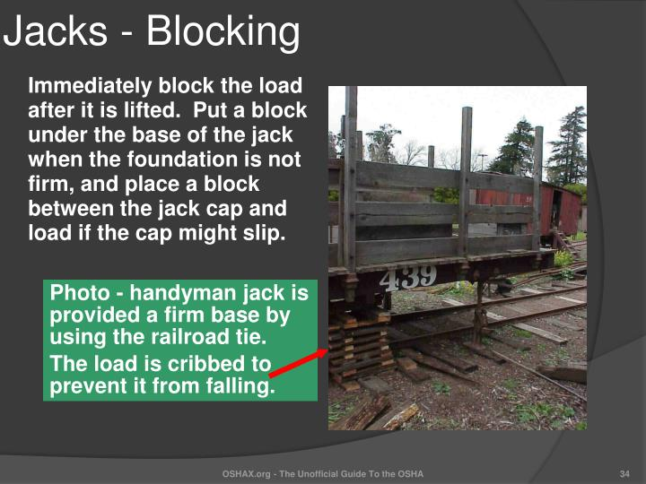 Jacks - Blocking