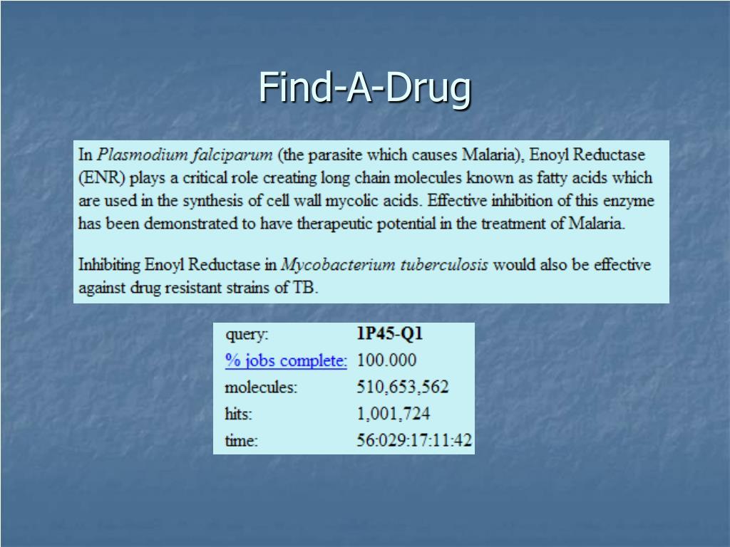 Find-A-Drug
