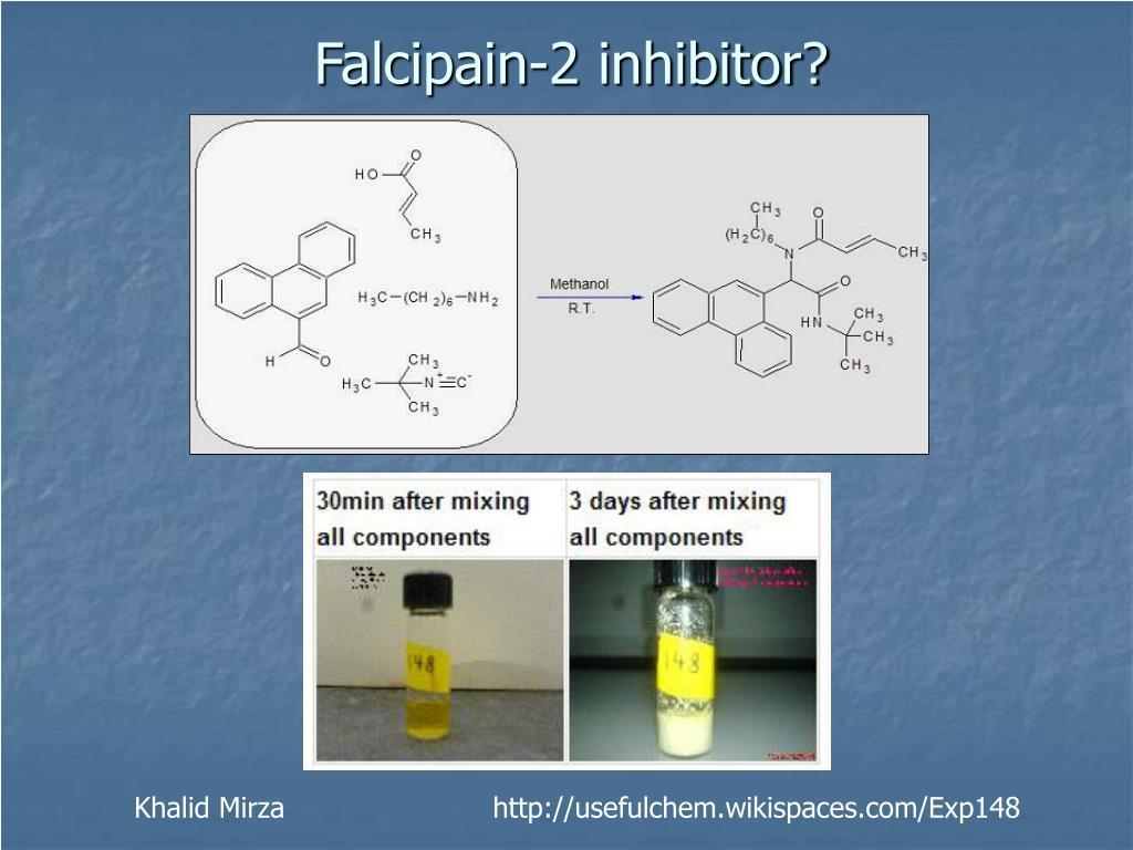 Falcipain-2 inhibitor?