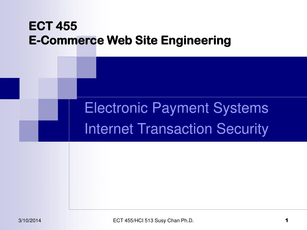 ect 455 e commerce web site engineering