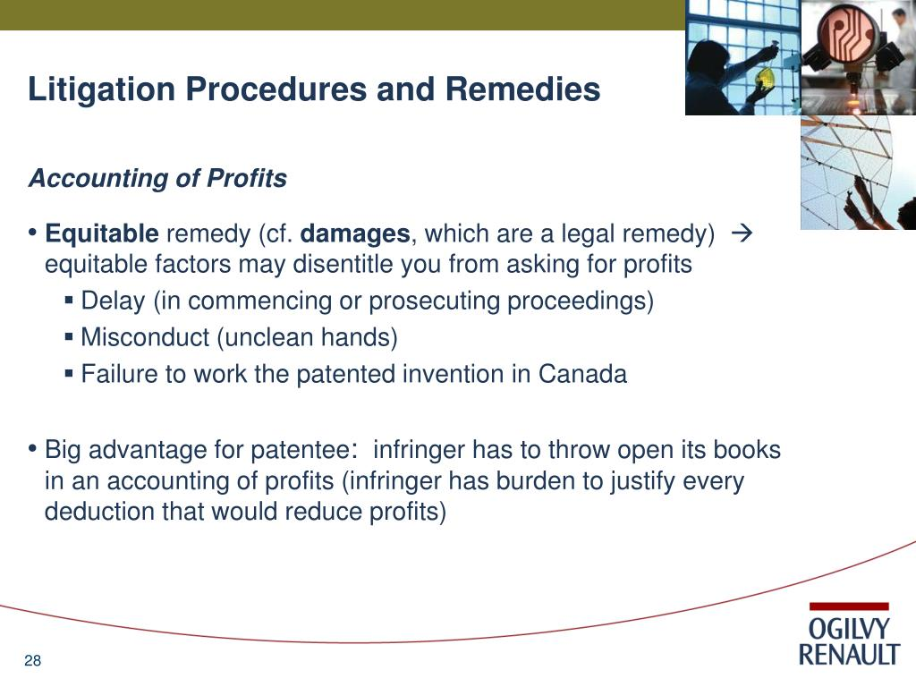 Litigation Procedures and Remedies