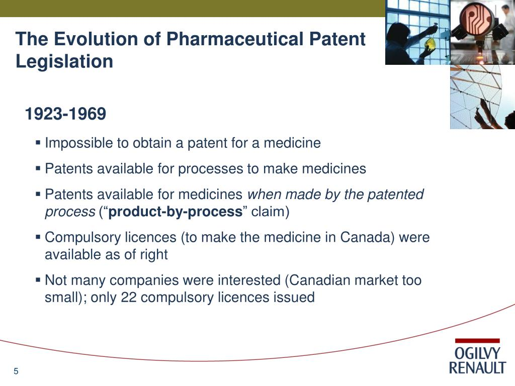 The Evolution of Pharmaceutical Patent Legislation