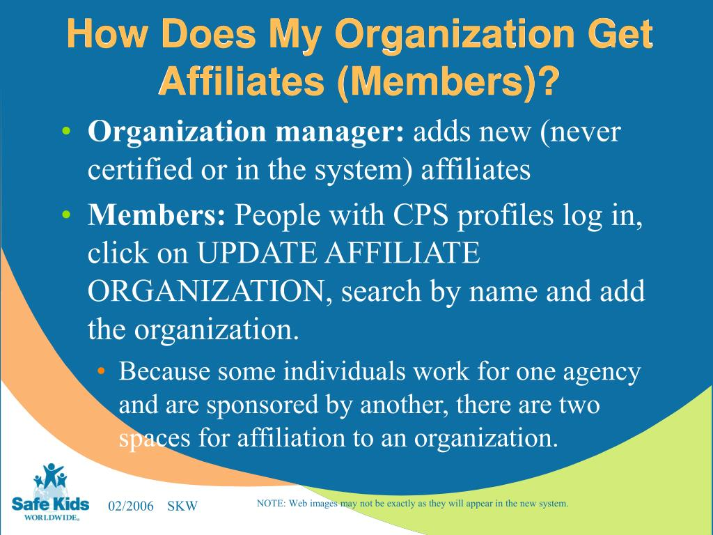 How Does My Organization Get Affiliates (Members)?