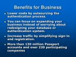 benefits for business
