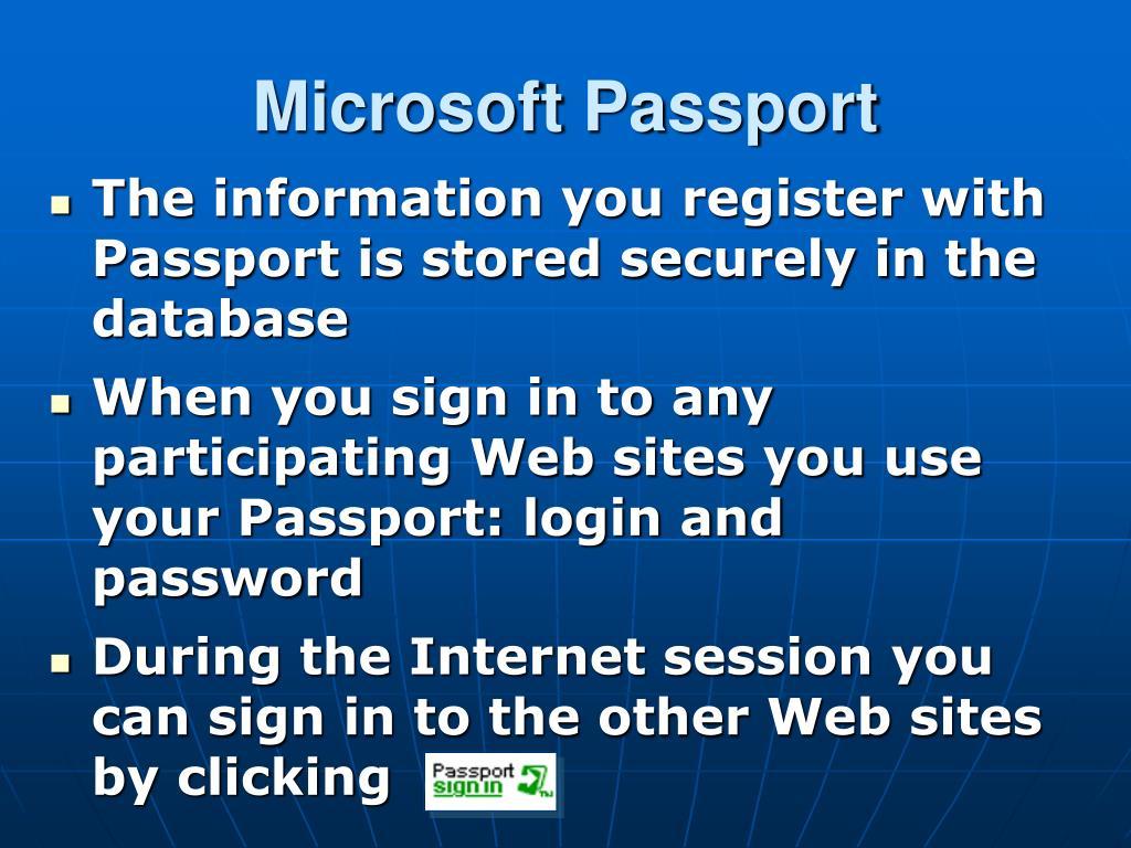 Microsoft Passport