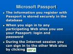 microsoft passport3