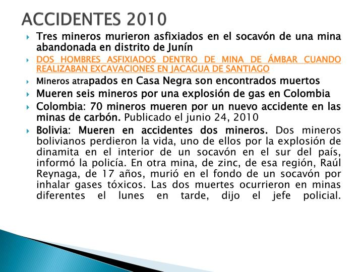 ACCIDENTES 2010