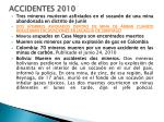 accidentes 2010