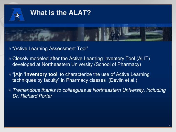 What is the ALAT?