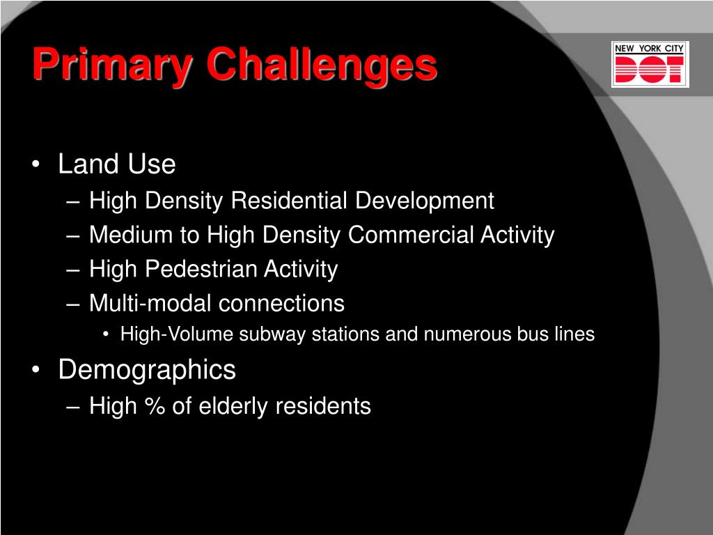 Primary Challenges