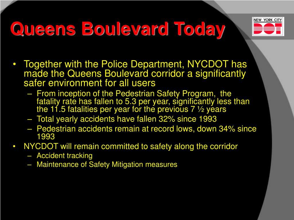 Queens Boulevard Today
