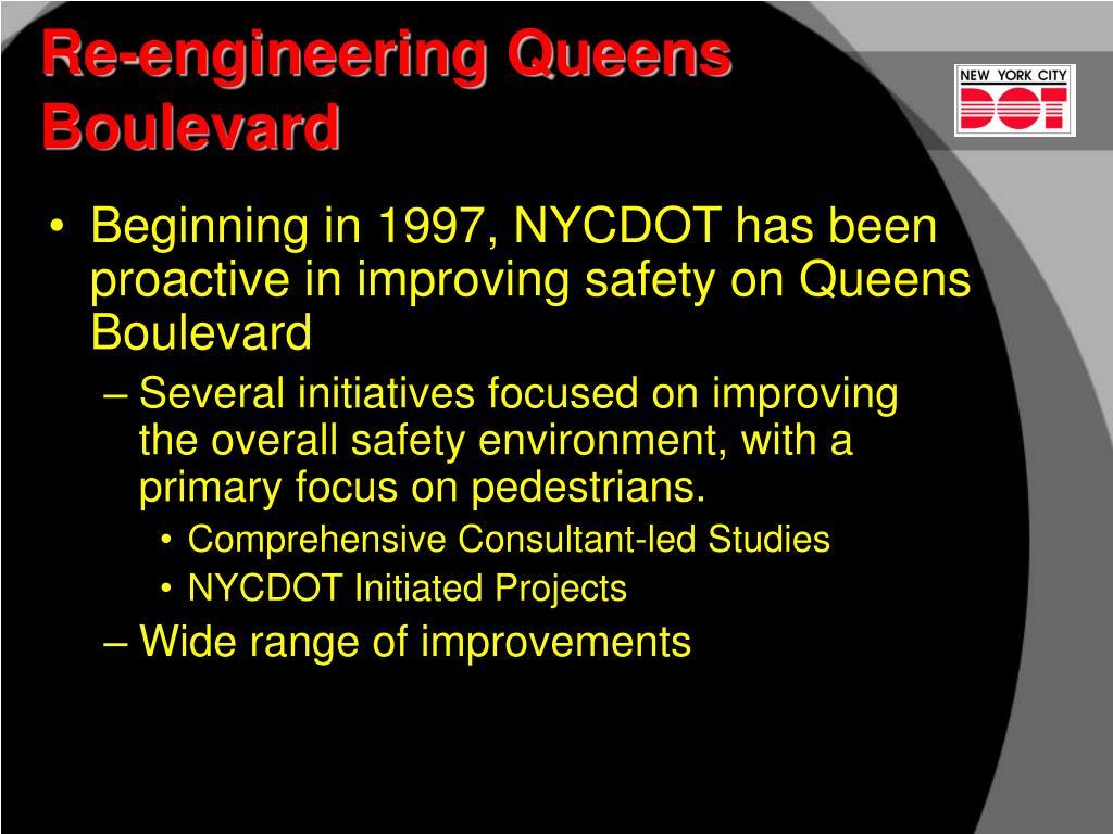 Re-engineering Queens Boulevard