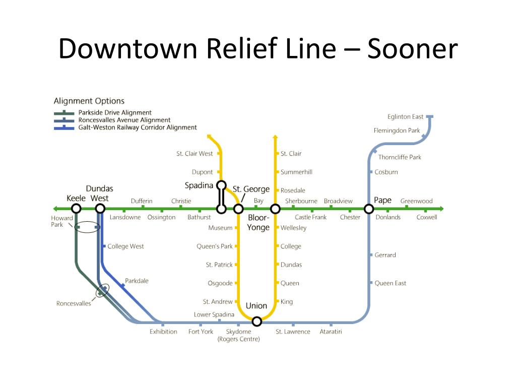 Downtown Relief Line – Sooner