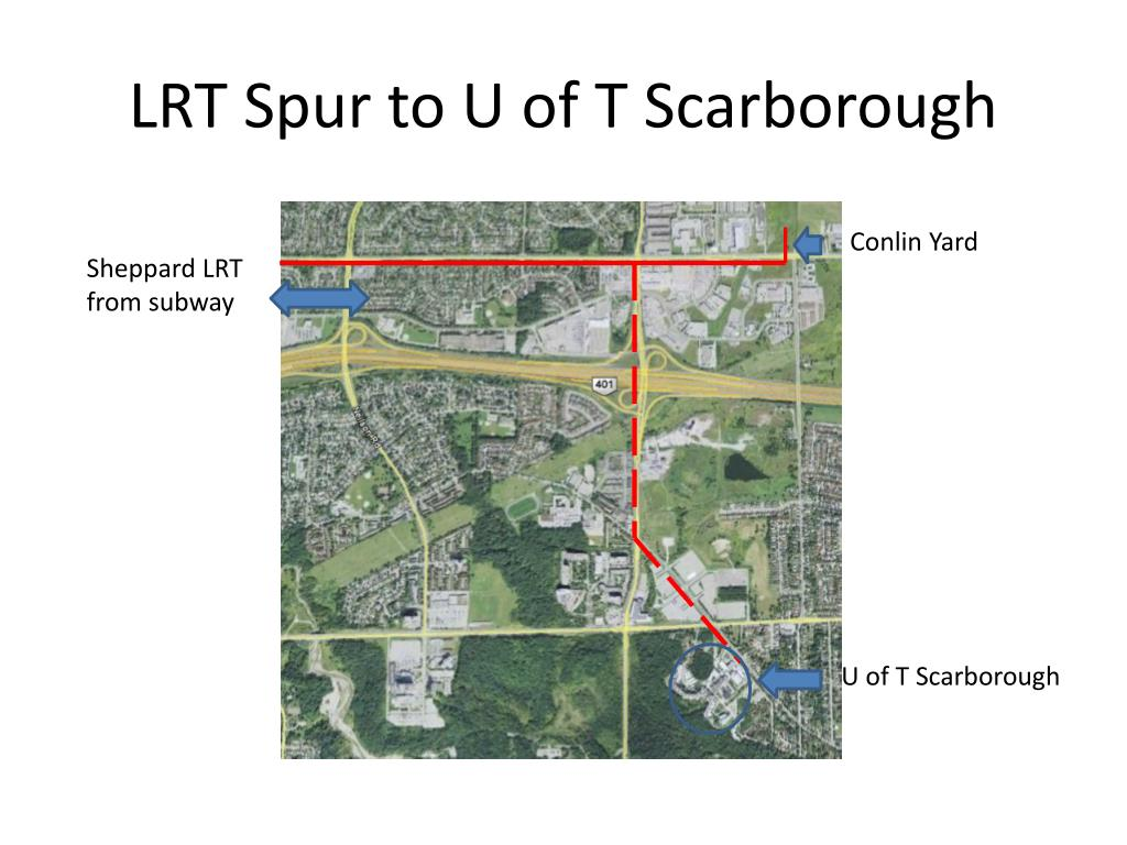 LRT Spur to U of T Scarborough