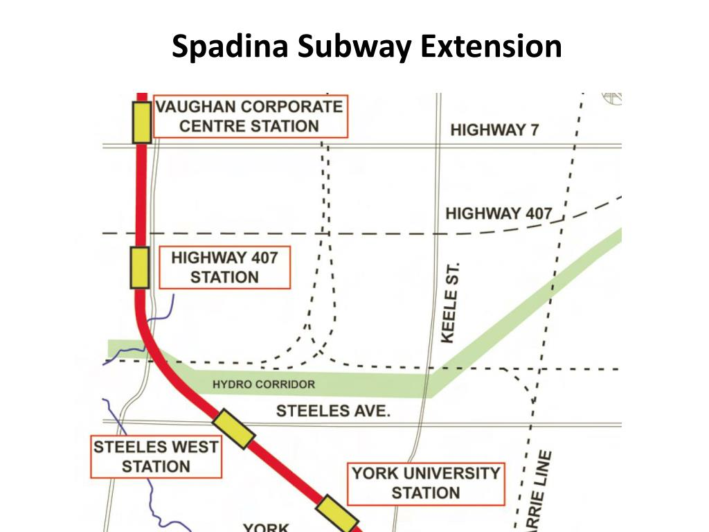 Spadina Subway Extension