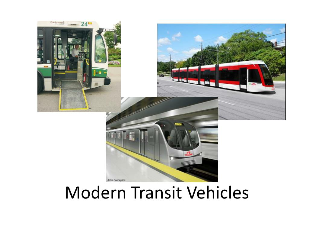 Modern Transit Vehicles