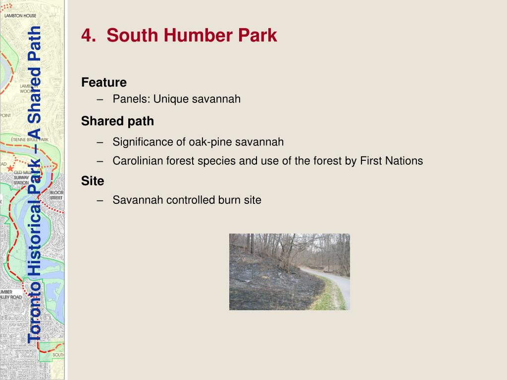 4.  South Humber Park