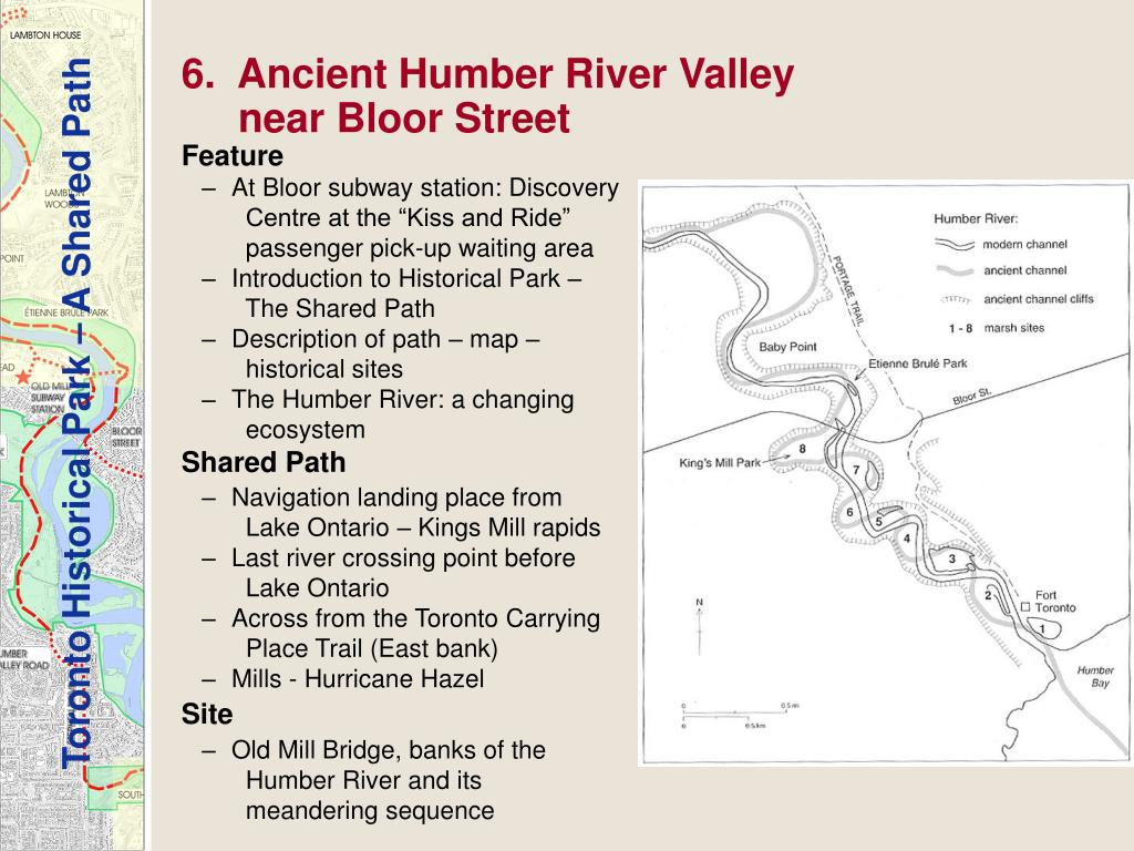 6.  Ancient Humber River Valley