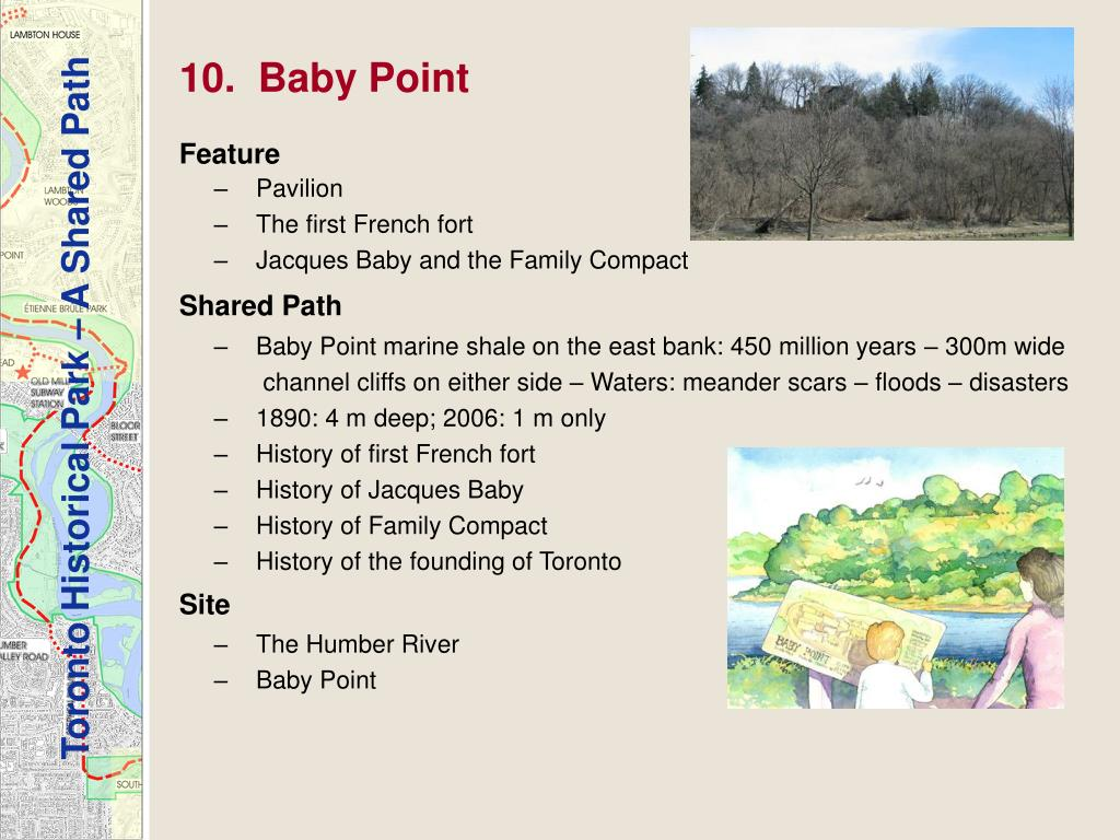 10.  Baby Point