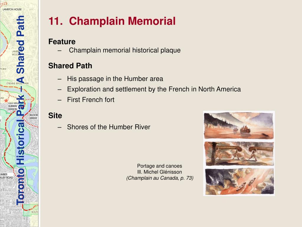 11.  Champlain Memorial