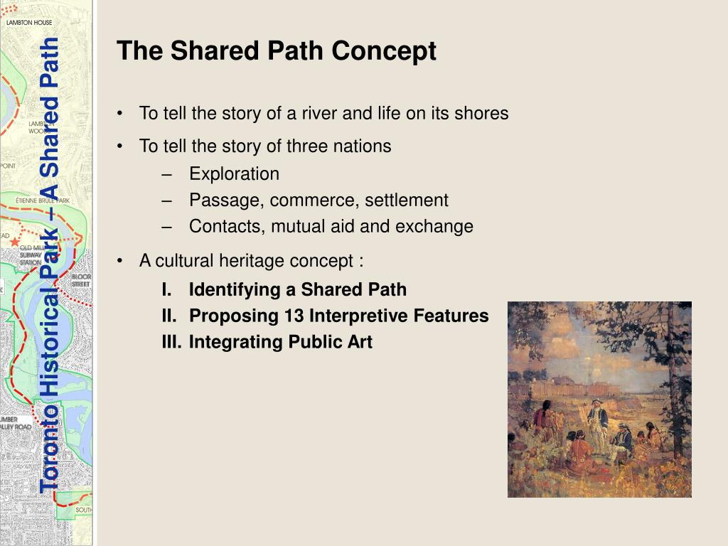The Shared Path Concept