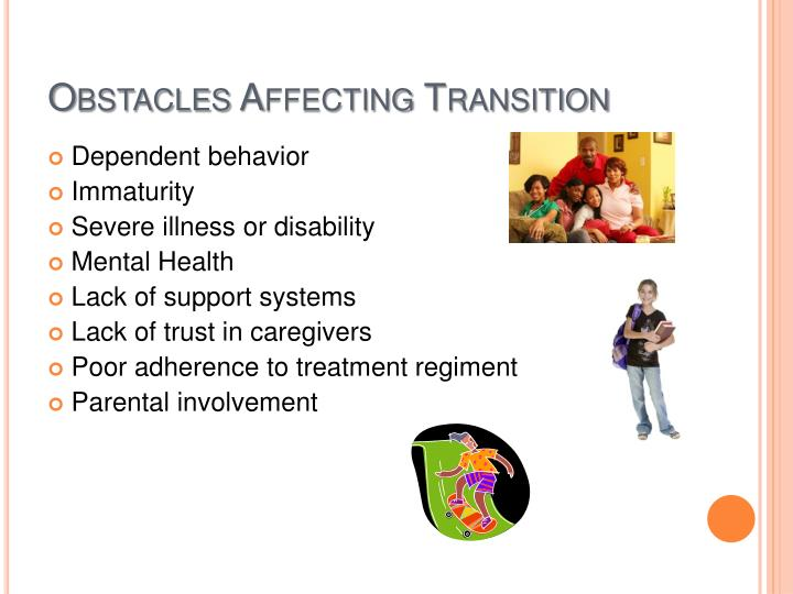 Obstacles Affecting Transition