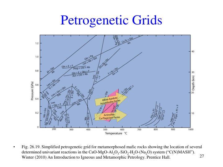 Petrogenetic Grids