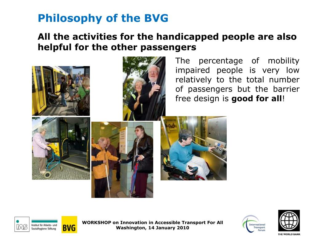 Philosophy of the BVG
