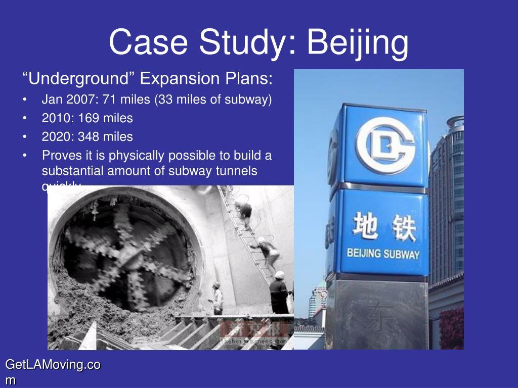 Case Study: Beijing