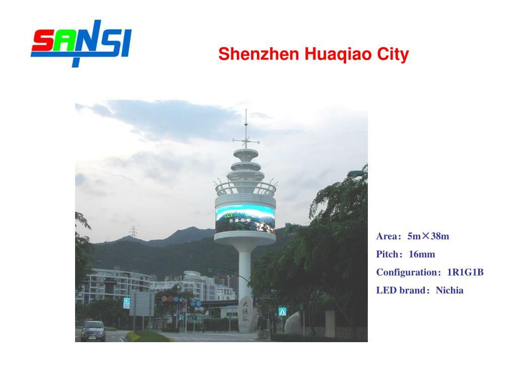 Shenzhen Huaqiao City