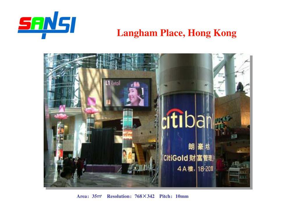 Langham Place, Hong Kong