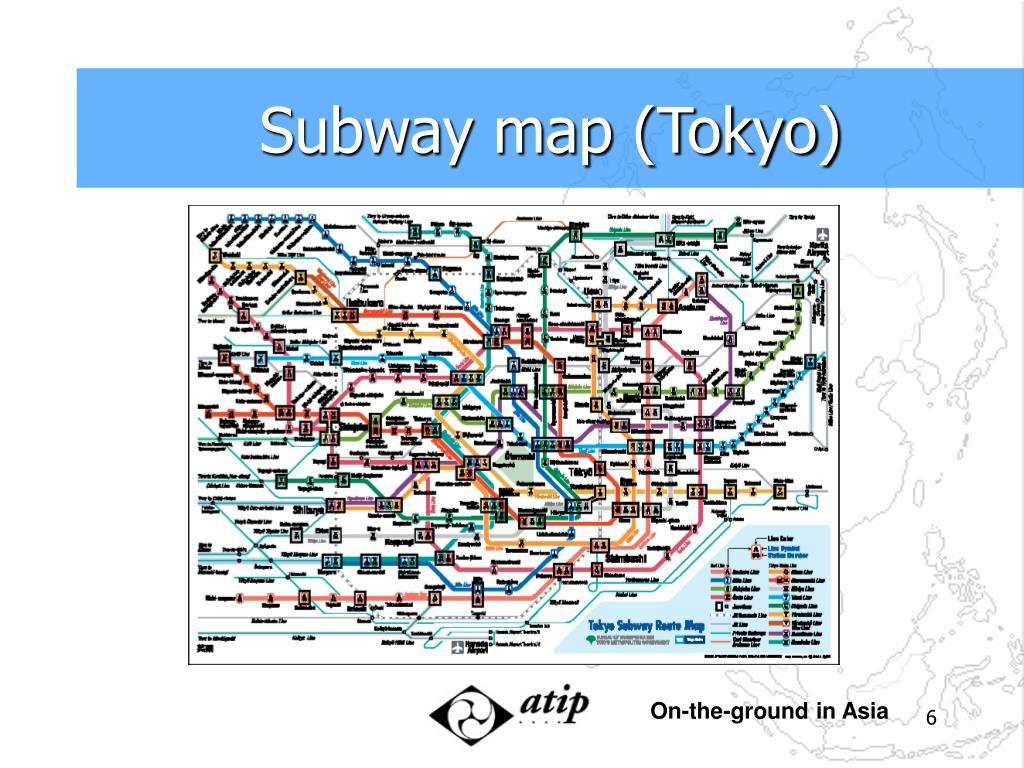 Subway map (Tokyo)