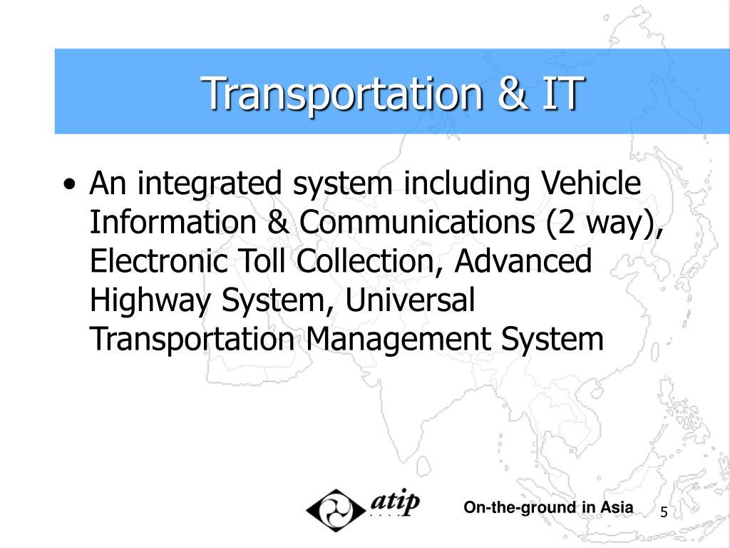 Transportation & IT