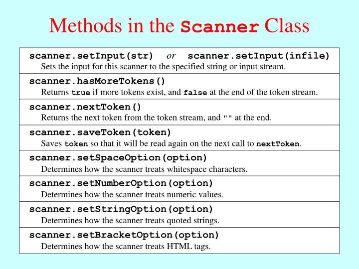 scanner.setInput(str)