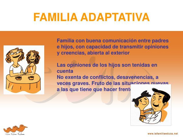FAMILIA ADAPTATIVA