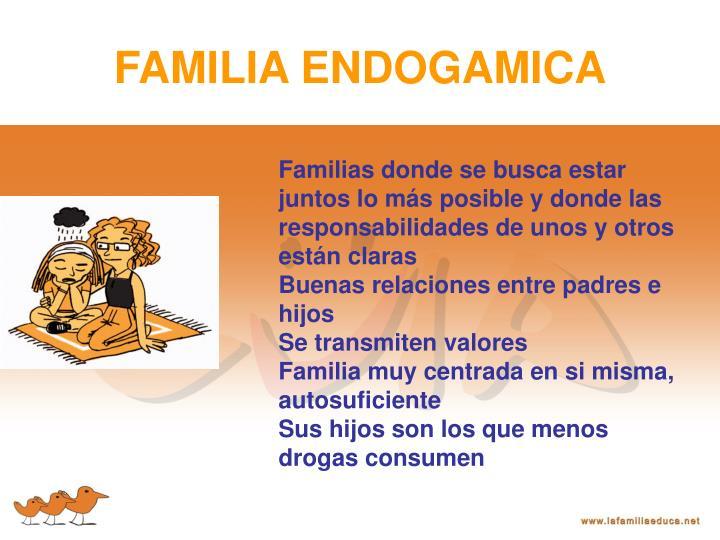 FAMILIA ENDOGAMICA