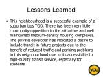 lessons learned54