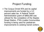 project funding17