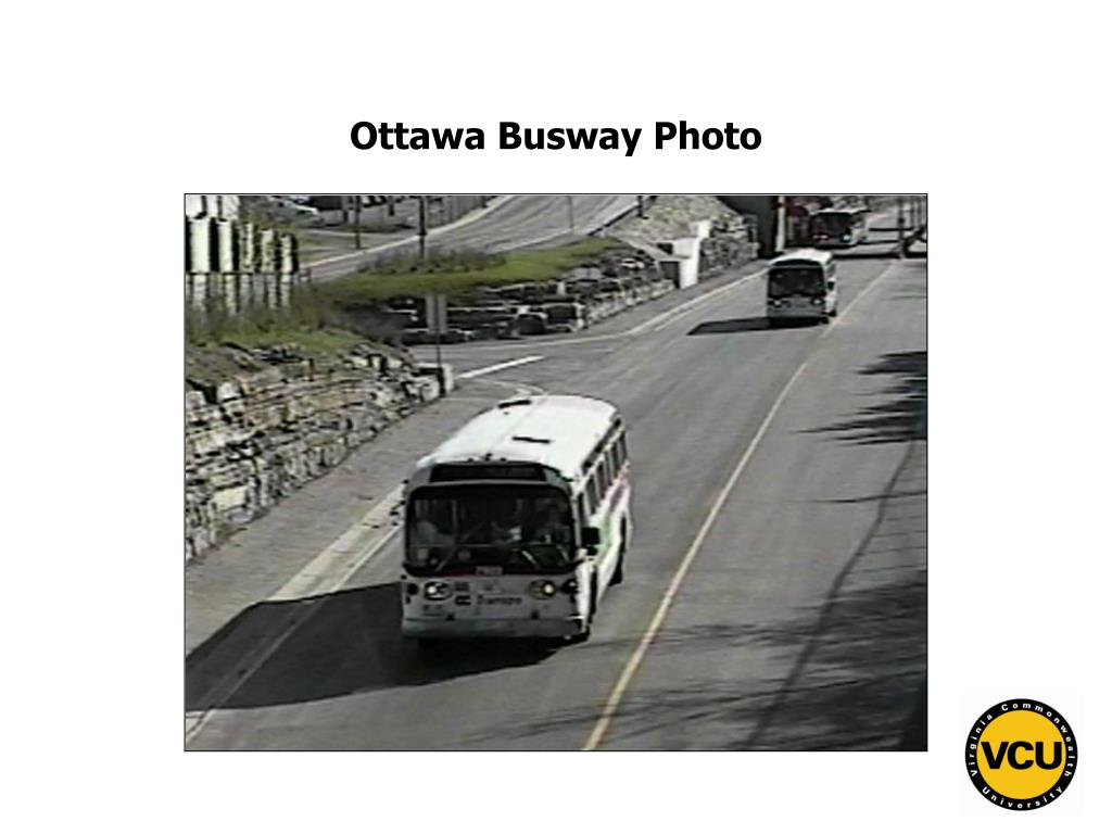 Ottawa Busway Photo