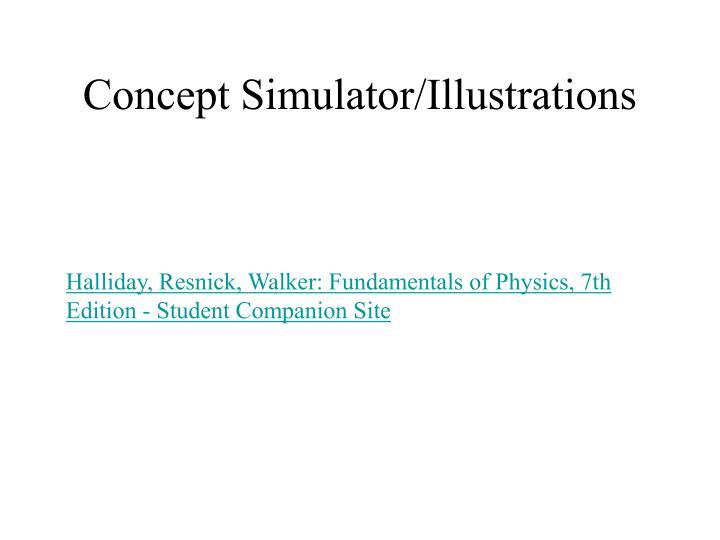 Concept Simulator/Illustrations