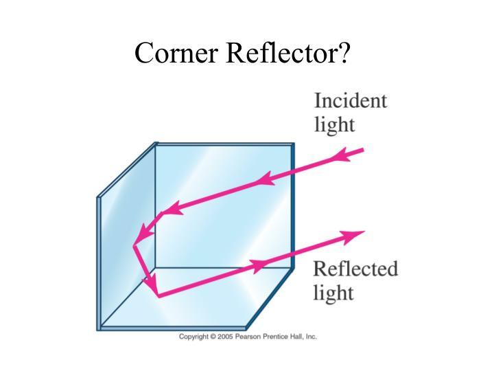 Corner Reflector?