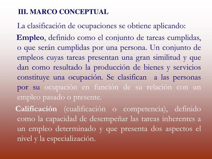 III. MARCO CONCEPTUAL