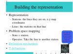 building the representation