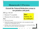 homework 2 preview