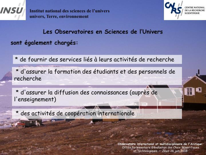 Institut national des sciences de l'univers