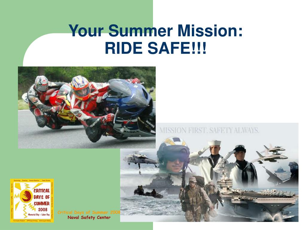 Your Summer Mission: