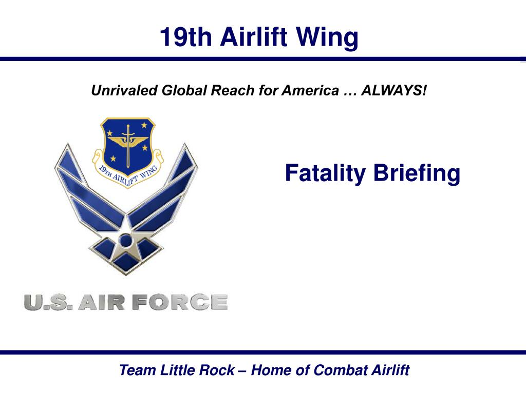 fatality briefing