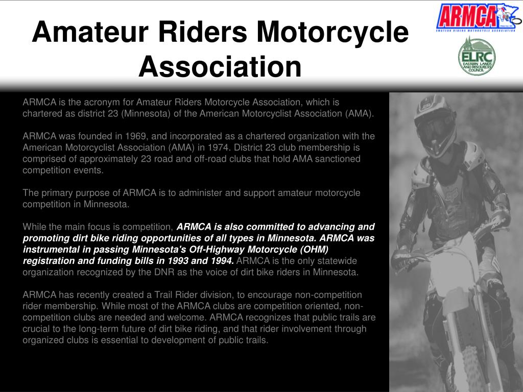 Amateur Riders Motorcycle Association